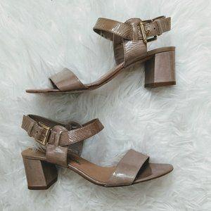 Emanuela Passeri Block Heel Sandals